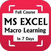 Learn MS Excel Macro - Complete Course icon