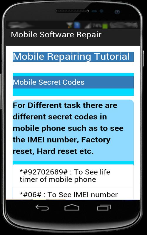 Mobile Software Repair for Android - APK Download