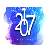 Happy New Year 2017 UP FRIENDS icon