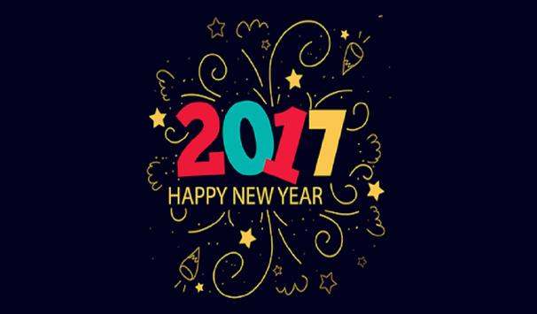Happy New Year 2017 UP FRIENDS screenshot 1