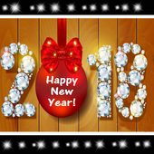 Happy New Year 2018 Greetings icon