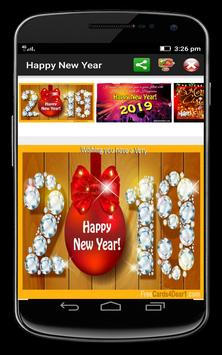 Happy New Year 2019 Greetings poster