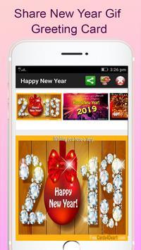 Happy New Year 2019 Greetings apk screenshot