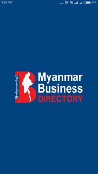 Myanmar Business Directory poster