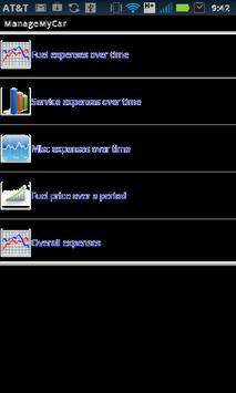 Manage My Car screenshot 3