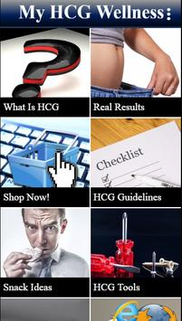 My HCG Wellness poster