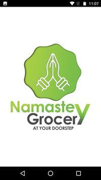 NAMASTEY GROCERY poster