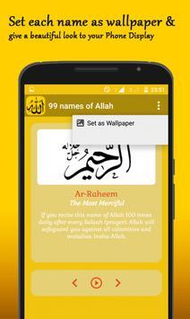 99 Names of Allah apk screenshot