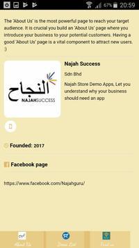 Najah Store Demo screenshot 1