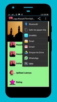 Mp3 Nasyid Tema Pernikahan apk screenshot
