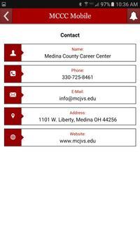 MCCC Mobile screenshot 1