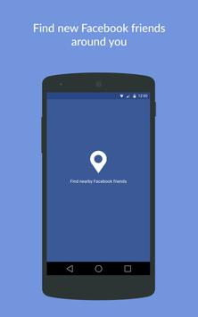 Nearby Friends for Facebook © poster