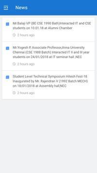 NEC Alumni Network screenshot 1