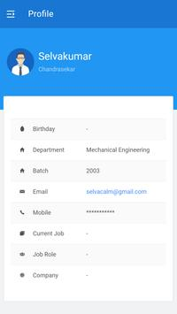 NEC Alumni Network screenshot 2