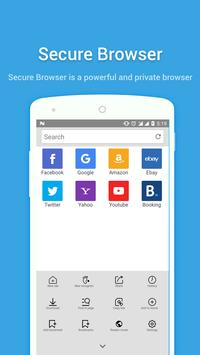 Secure Browser poster