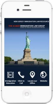 Scheer NJ Immigration Lawyer poster