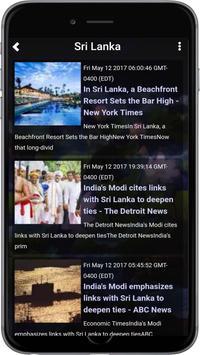 Sri Lanka Radios TV News Chat screenshot 1