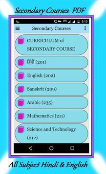 NIOS BOOK - Secondary + Sr. Secondary Courses poster