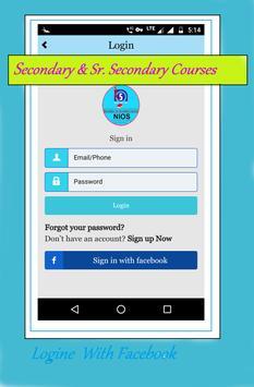 NIOS BOOK - Secondary + Sr. Secondary Courses screenshot 4