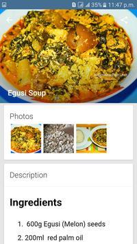 Top Nigerian Food Recipes screenshot 1