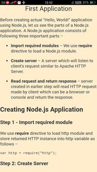 Learn Node JS Full Course NodeJS Learn to Code for Android