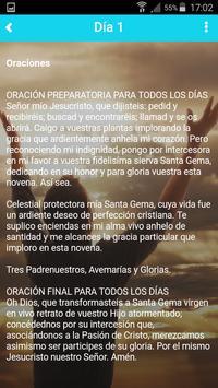 Novena a Santa Gema screenshot 1