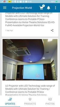 Projection World screenshot 2