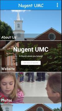 Nugent UMC poster