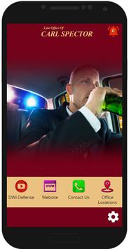 NY DWI Lawyer Carl Spector poster