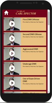 NY DWI Lawyer Carl Spector apk screenshot