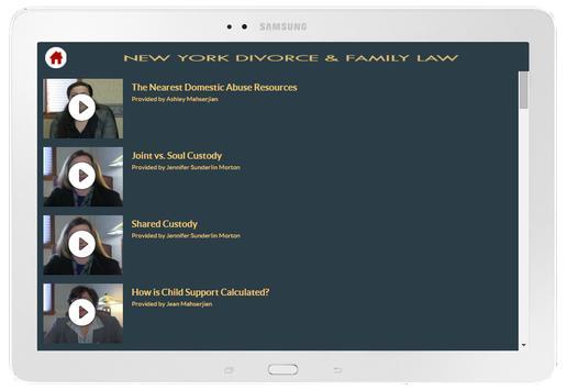 Jean Mahserjian NY Divorce apk screenshot