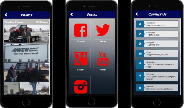 Owen Motor Sports, Inc App screenshot 1
