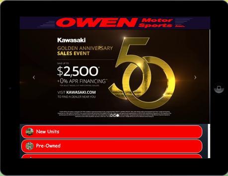 Owen Motor Sports, Inc App screenshot 2