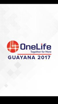 One Life Guayana 2017 poster