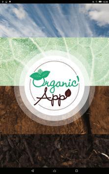 Organic'App poster
