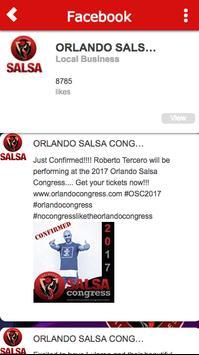 Orlando Salsa Congress screenshot 2