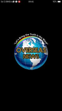 OVERSEAS NEWS poster