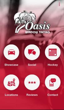 Oasis Window Tinting poster