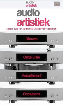 Audio Artistiek poster