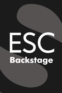 ESC Backstage poster