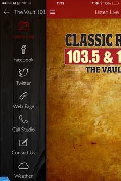 The Vault 103.5 screenshot 1