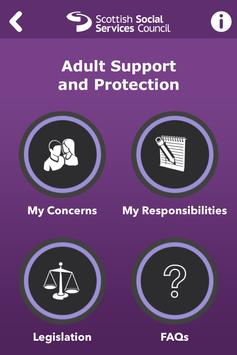 Adult support and protection poster