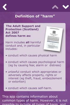Adult support and protection apk screenshot