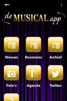 De Musical App Nederland poster