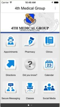 4th Medical Group poster