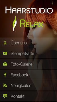 Haarstudio Relax poster