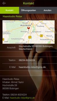 Haarstudio Relax screenshot 2