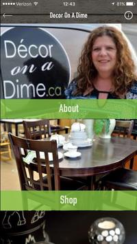 Decor On A Dime Consignment poster