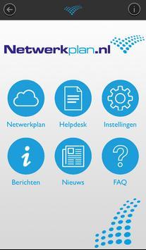 Netwerkplan poster