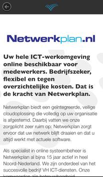 Netwerkplan screenshot 1